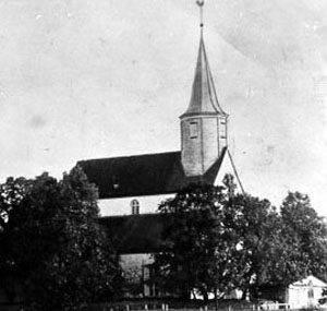 Baznīcas zīmējums