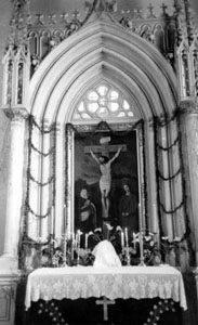 Baznīcas vēsturiskais altāris