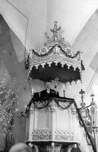 Baznīcas vēsturiskā kancele
