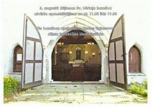 Baznīca atvērta apmeklētājiem
